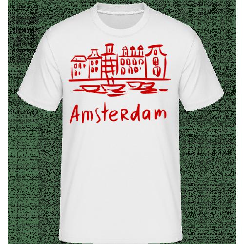 Amsterdam Chinesischer Stil - Shirtinator Männer T-Shirt