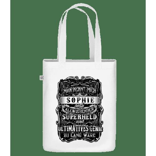 Man Nennt Mich Sophie - Bio Tasche