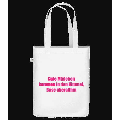 Böse Mädchen - Bio Tasche