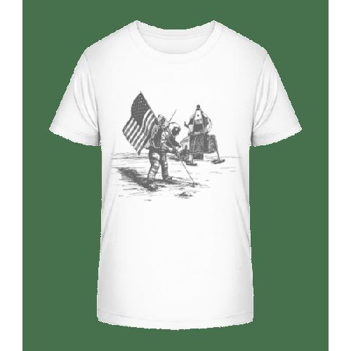 Mondlandung Apollo - Kinder Premium Bio T-Shirt