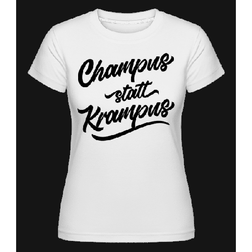 Champus Statt Krampus - Shirtinator Frauen T-Shirt