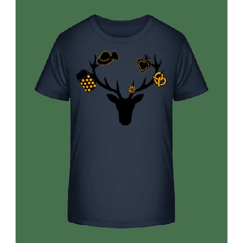 Bayerischer Hirsch - Kinder Premium Bio T-Shirt