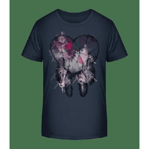 Traumfänger Herz - Kinder Premium Bio T-Shirt