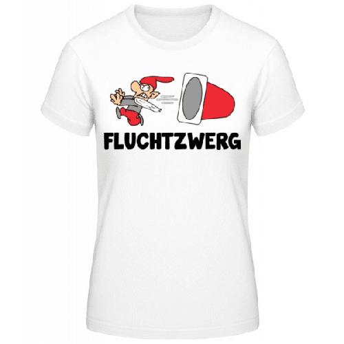Fluchtzwerg - Frauen Basic T-Shirt