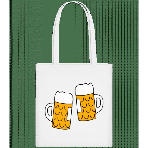 Zwei Bier - Stoffbeutel