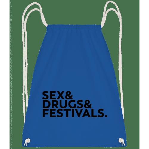 Sex Drugs Festivals - Turnbeutel