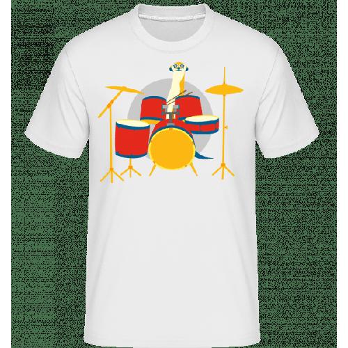 Erdmännchen am Schlagzeug - Shirtinator Männer T-Shirt