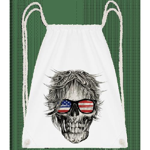 Totenschädel Amerika - Turnbeutel