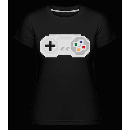 Konsolen Controller Oldschool Pi - Shirtinator Frauen T-Shirt