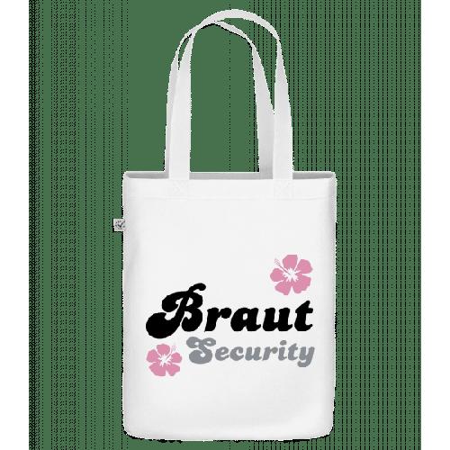 Braut Security Blumen - Bio Tasche