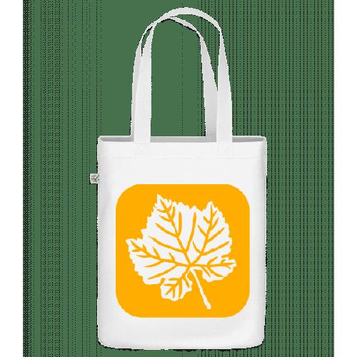 Herbstblatt - Bio Tasche