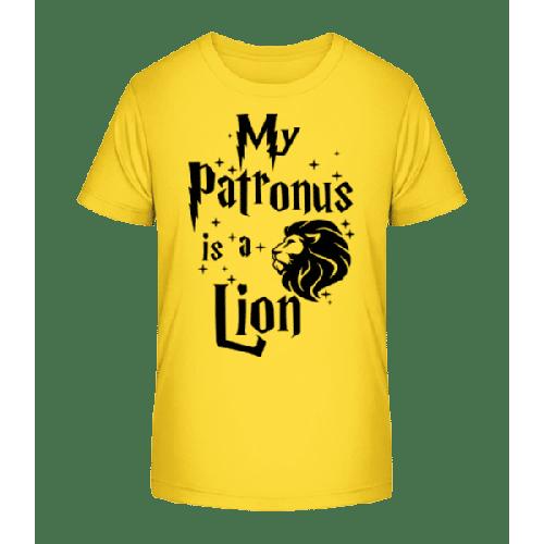 My Patronus Is A Lion - Kinder Premium Bio T-Shirt