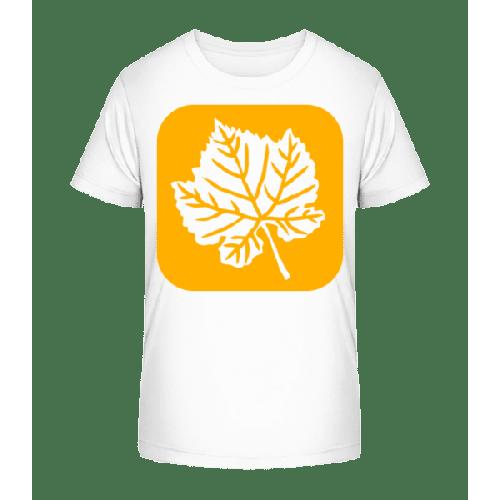 Herbstblatt - Kinder Premium Bio T-Shirt