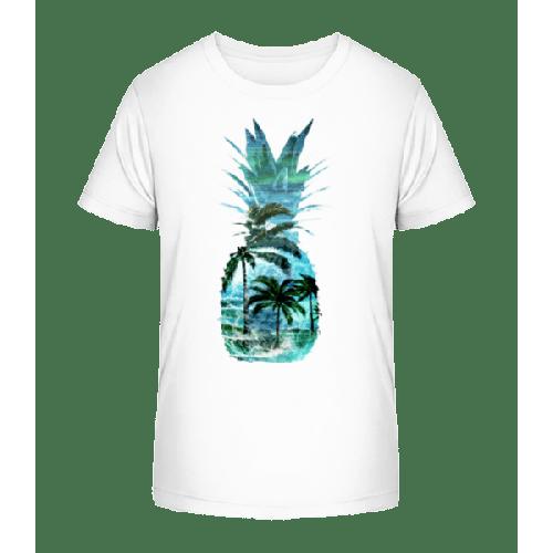 Ananas Palmen - Kinder Premium Bio T-Shirt