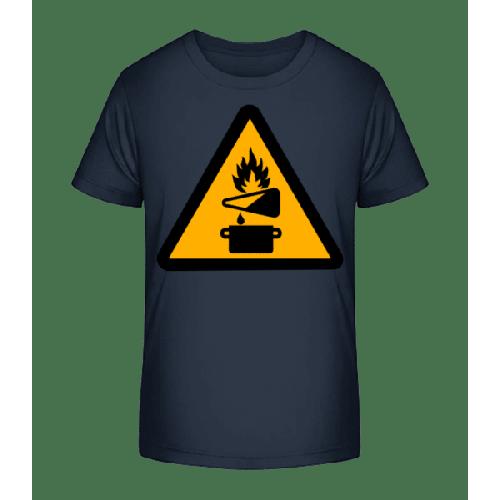 Achtung Brandgefahr - Kinder Premium Bio T-Shirt