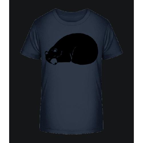 Schlafender Bär - Kinder Premium Bio T-Shirt