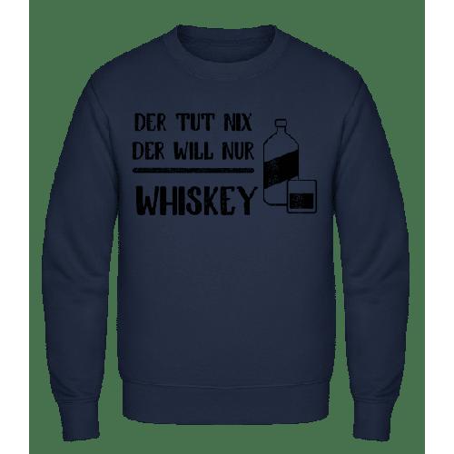 Der Tut Nix Nur Whiskey - Männer Pullover