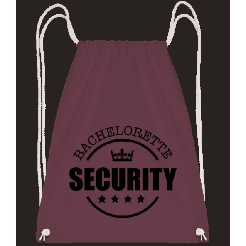 Bachelorette Security - Turnbeutel