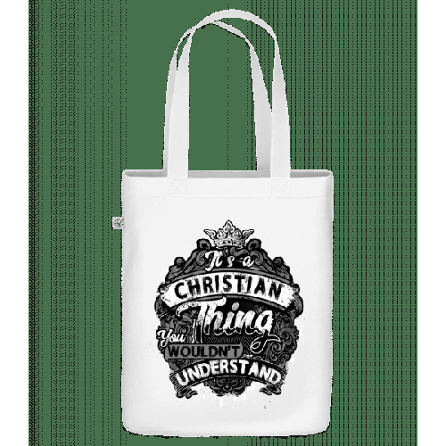 It's A Christian Thing - Bio Tasche