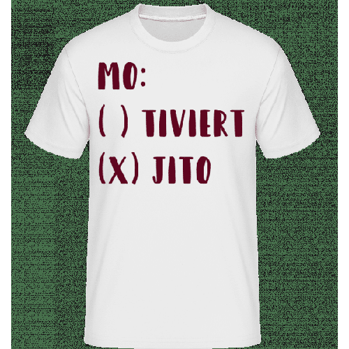 Motiviert Mojito - Shirtinator Männer T-Shirt