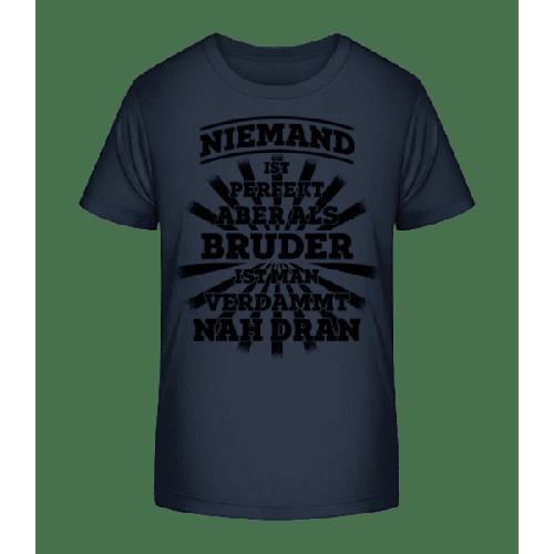 Perfekter Bruder - Kinder Premium Bio T-Shirt