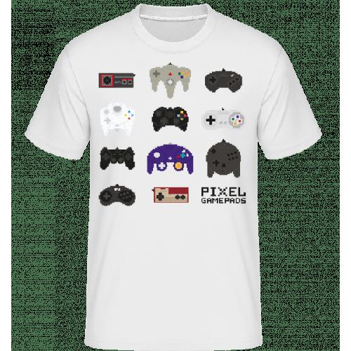 Konsolen Controller Pixel - Shirtinator Männer T-Shirt
