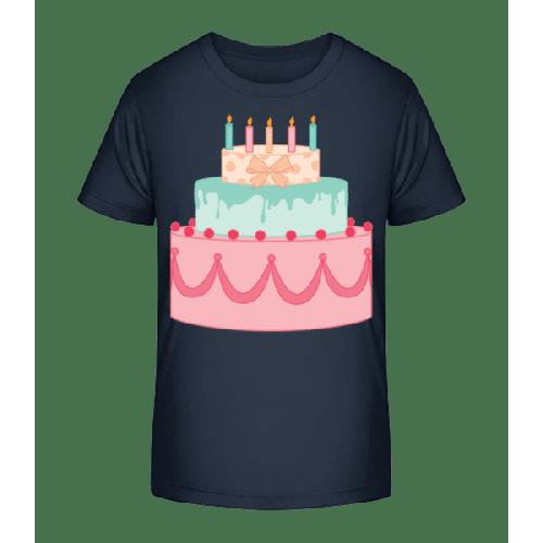 Geburtstagskuchen - Kinder Premium Bio T-Shirt