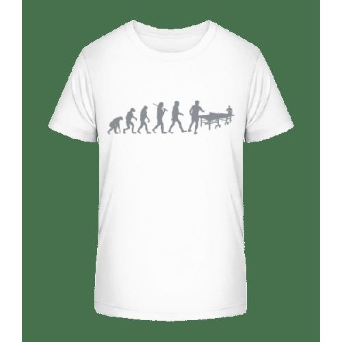 Evolution Des Tischtennis - Kinder Premium Bio T-Shirt