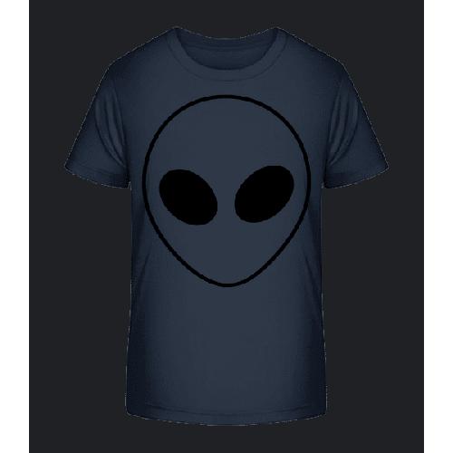 Alien Gesicht - Kinder Premium Bio T-Shirt