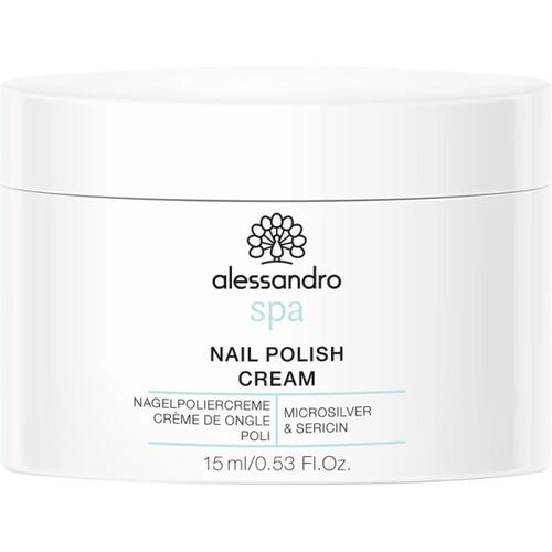Alessandro Spa Foot Nail Polish Cream 15 g Nagelpolierer