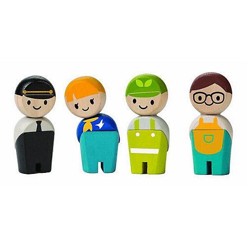 Planworld Spielfiguren Handwerker Spielfigurensets mehrfarbig