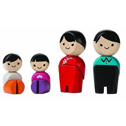 Planworld Spielfiguren Familie ,Asien Spielfigurensets mehrfarbig