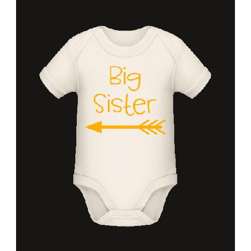 Big Sister - Baby Bio Strampler