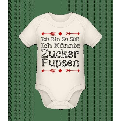 Zucker Pupsen - Baby Bio Strampler