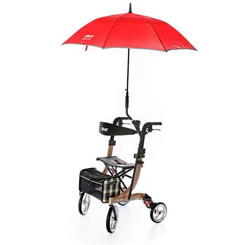 Avena Herren Rollator-Regenschirm Rot