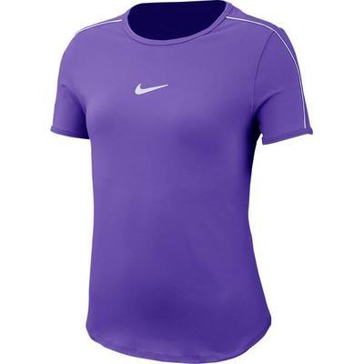 NIKE Mädchen Tennisshirt Dry Top Kurzarm, Größe L in Blau