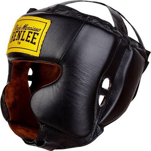 BENLEE Kopfschutz aus Leder TYSON, Größe S-M in Red