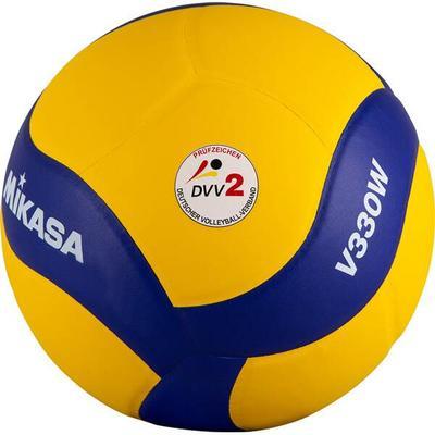 MIKASA Ball V330W, Größe 5 in Gelb/Blau