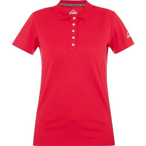 McKINLEY Damen Polo Mako, Größe 48 in Rot