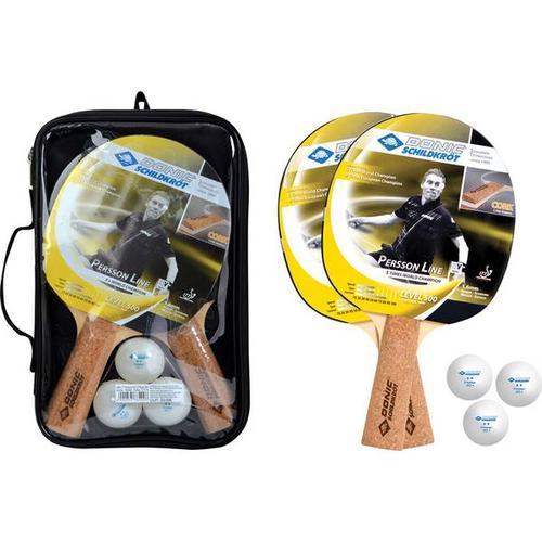 Donic-Schildkröt Tischtennis-Set Persson 500 Kork, Größe - in Keine Farbe
