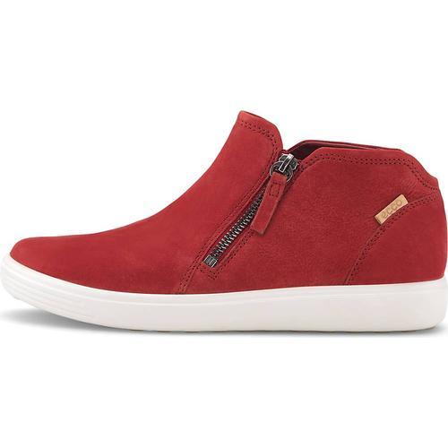 Ecco, Boots Soft 7 W in rot, Boots für Damen Gr. 38