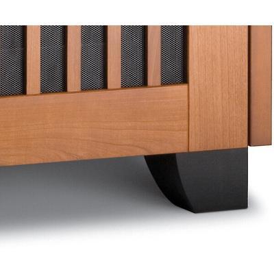 "Salamander Designs 3.25"" Tapered Wood Feet, Set of 4- Black"