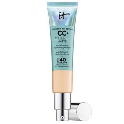 Your Skin But Better CC+ Cream Oil Free Matte CC Crème Correctrice Haute Couvrance Anti-Pores Apparents