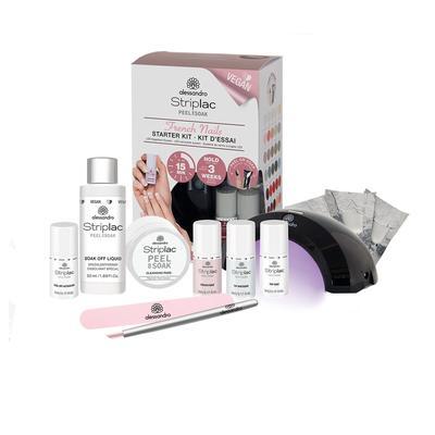 Kit d'essai French Manucure Striplac Peel or Soak Kit de démarrage pour les ongles Striplac Peel or Soak