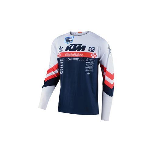 TLD Factory Team Jersey Shirt weiß S