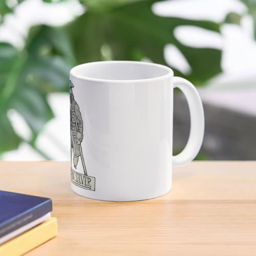 Long John Silver. Mug
