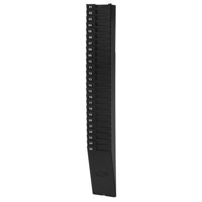 Lathem 259EX Time Clock Accessories, 25 Slot Card Rack
