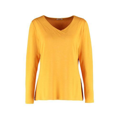Deerberg Damen Jersey-Shirt Leelou herbstgold