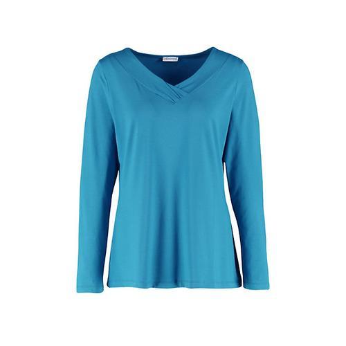 Deerberg Damen Jersey-Shirt Leelou libellenblau