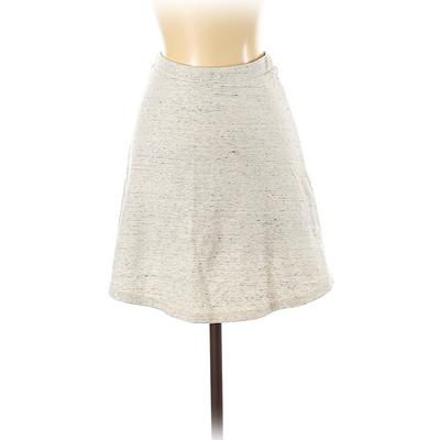American Apparel Casual Skirt: Ivory Bottoms - Size Small